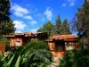 Rustic bungalows