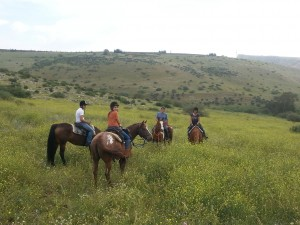 Bar Mitzva trail-riding adventure